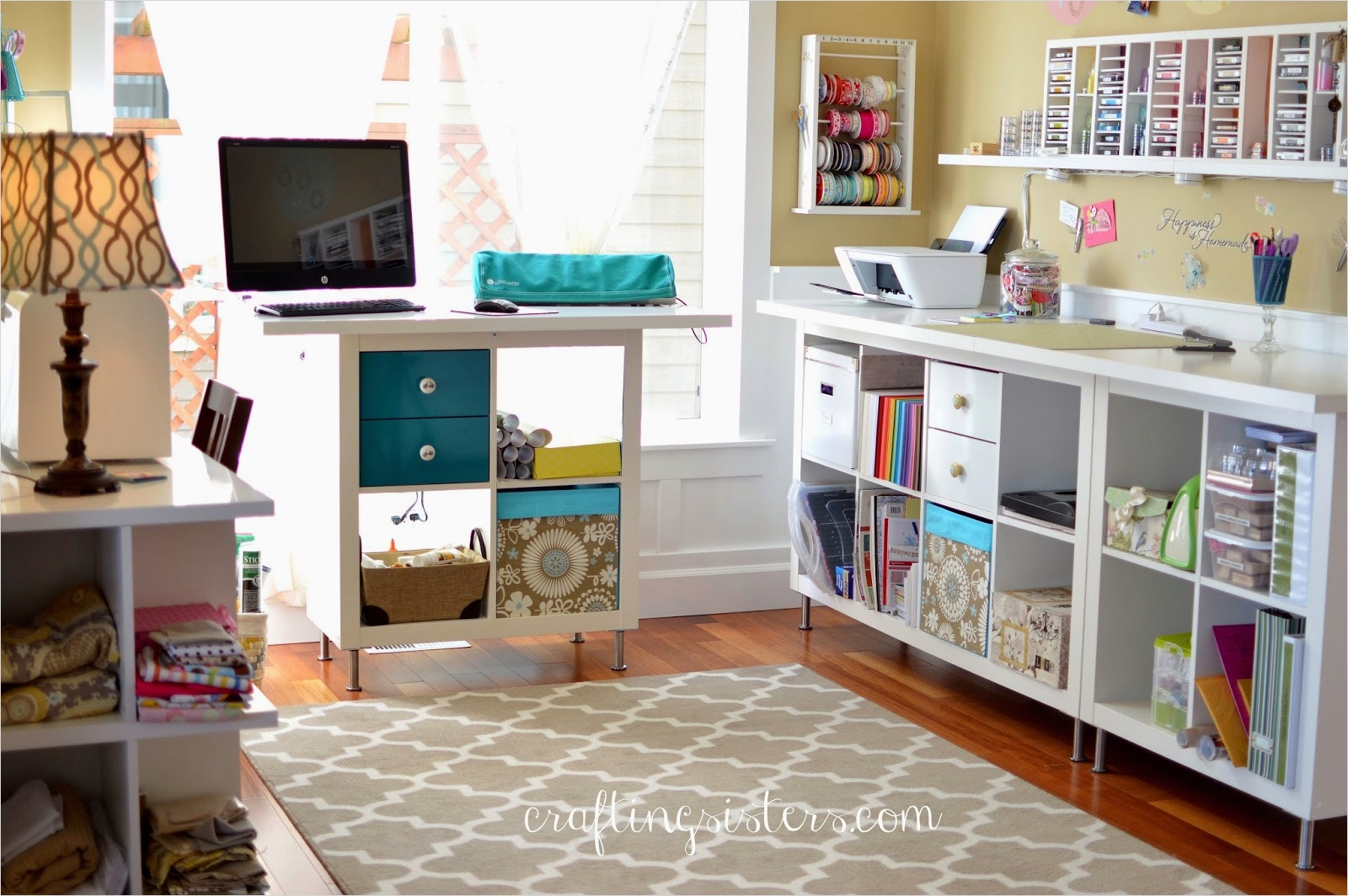 Ikea Craft Room Makeover 19 Crafting Sisters Diy Dining Room to Craft Room 9