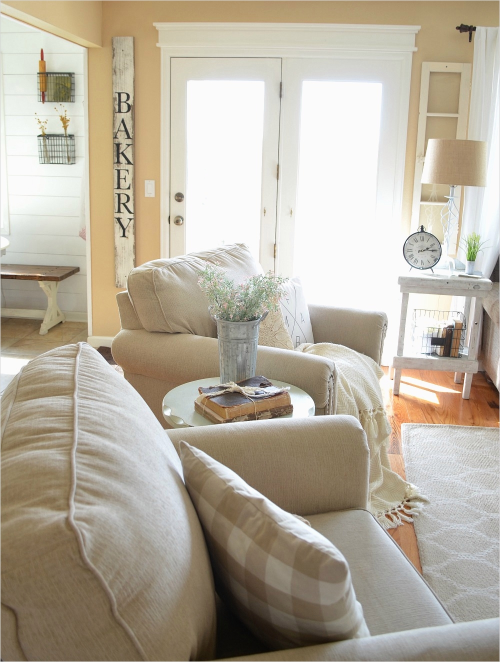 Modern Farmhouse Living Room Decor 44 Refreshed Modern Farmhouse Living Room Little Vintage Nest 7