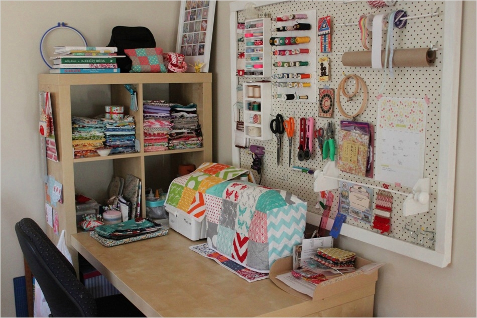 Sewing Room Ideas for Small Spaces 89 My Sewing Space Sew Delicious 3