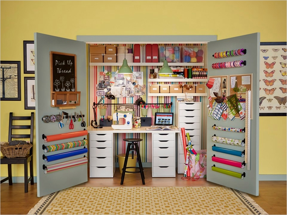 Sewing Room Ideas for Small Spaces 57 10 Amazing Sewing Room Ideas 4