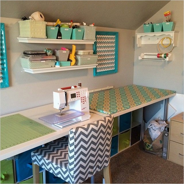 Sewing Room Ideas for Small Spaces 61 262 Best Sewing Spaces Images On Pinterest 3