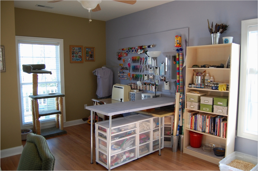 Sewing Room Ideas for Small Spaces 33 Craft Room & Home Studio Ideas 3