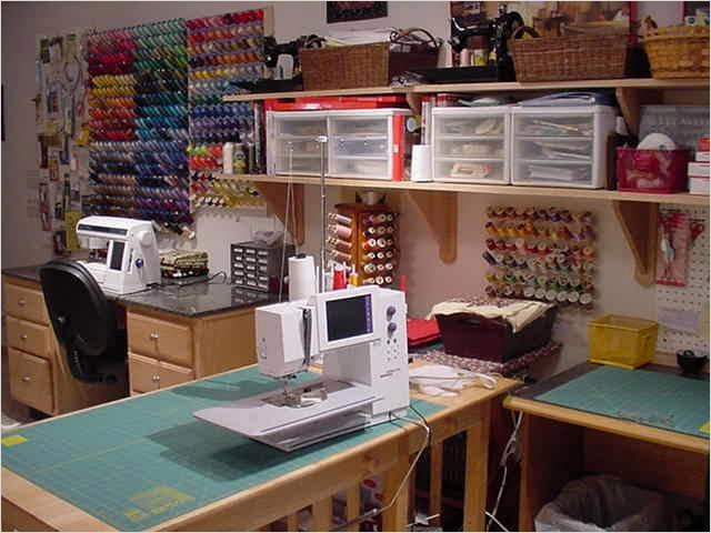 Sewing Room Ideas for Small Spaces 89 Gallery 1