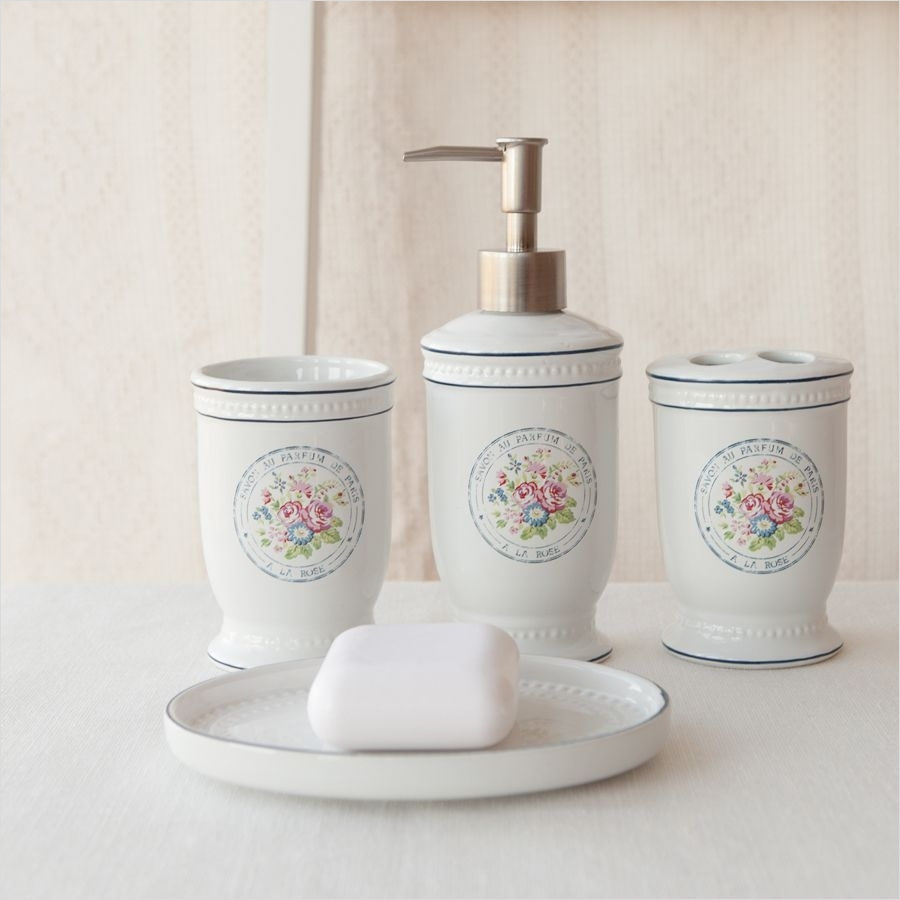 Shabby Chic Bathroom Accessories 38