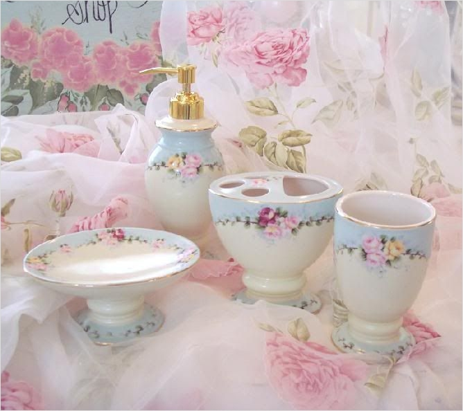 Shabby Chic Bathroom Accessories 10