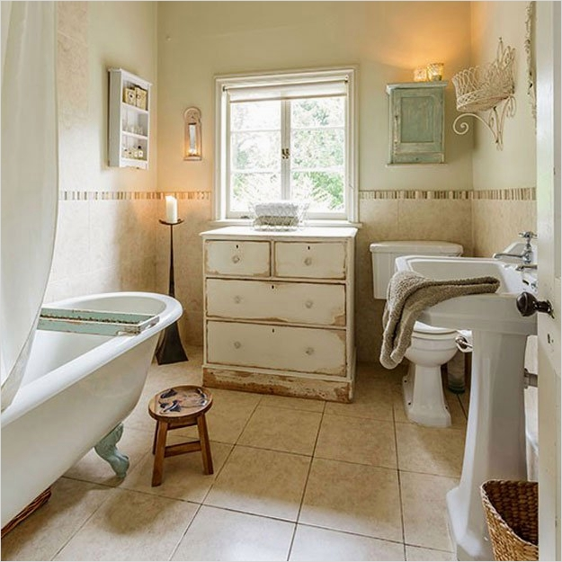 43 Beautiful Shabby Chic Bathroom Decorating Ideas 18 Shabby Chic Decor Ideas Diy Projects Craft Ideas & How to's for Home Decor with Videos 3