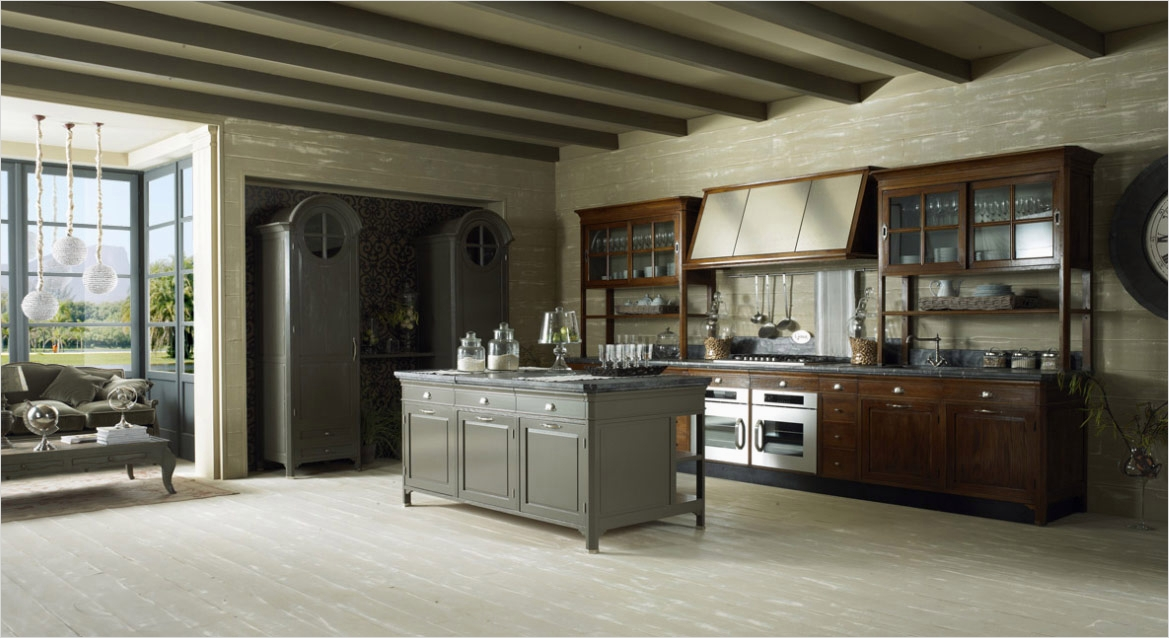 43 Amazing Ideas Urban Classic Kitchen Design 21 Old town and Country Style Kitchen 4