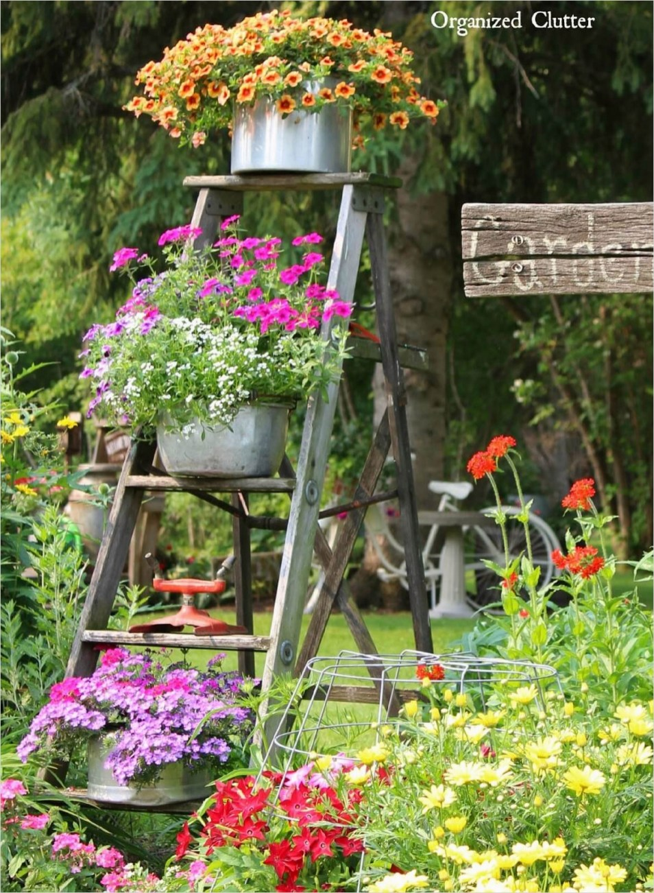 42 Beautiful Vintage Yard Decorating Ideas 28 34 Best Vintage Garden Decor Ideas and Designs for 2017 7