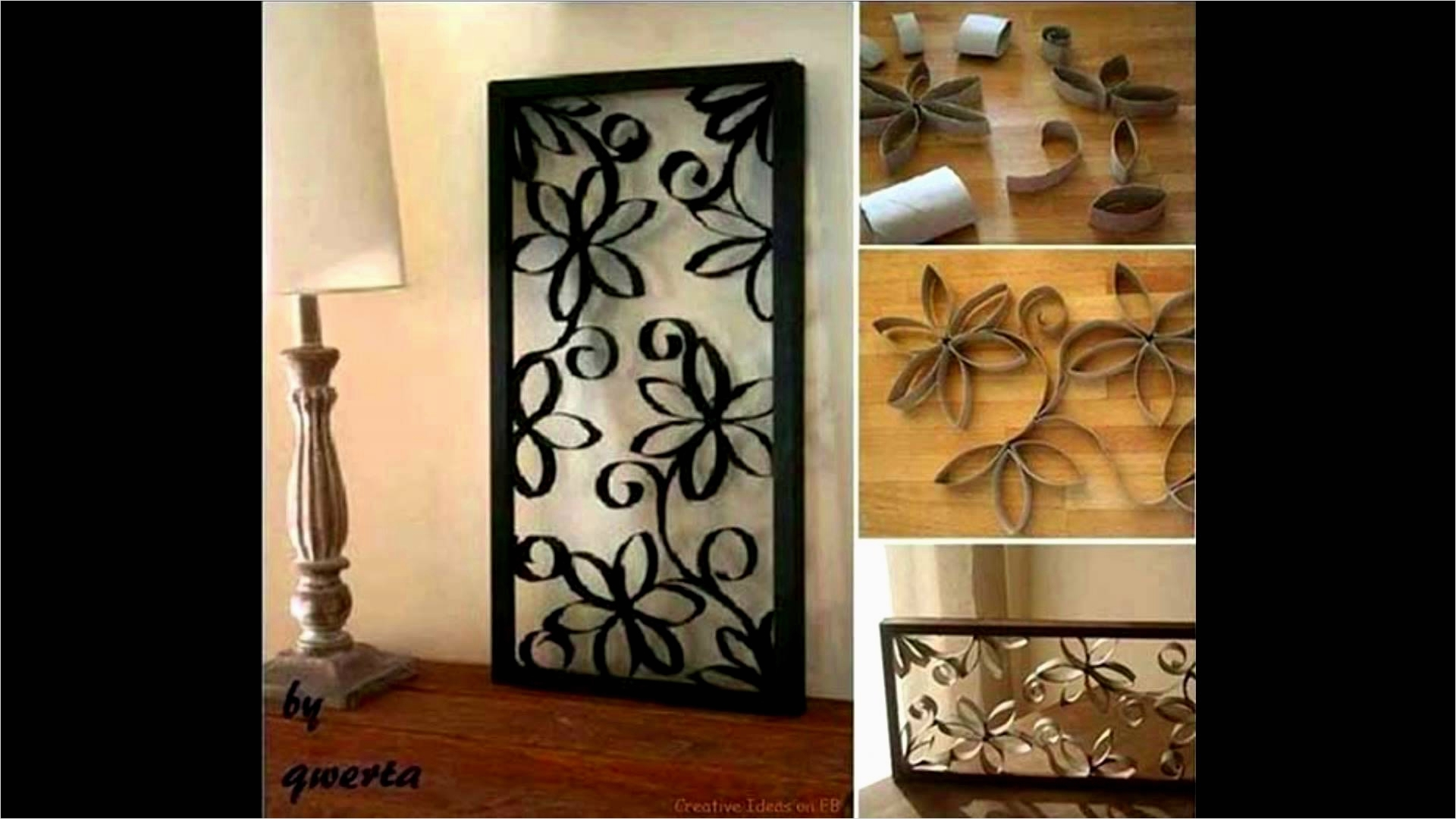 44 Creative Craft Wall Decoration Ideas 89 30 Homemade toilet Paper Roll Art Ideas for Your Wall 6
