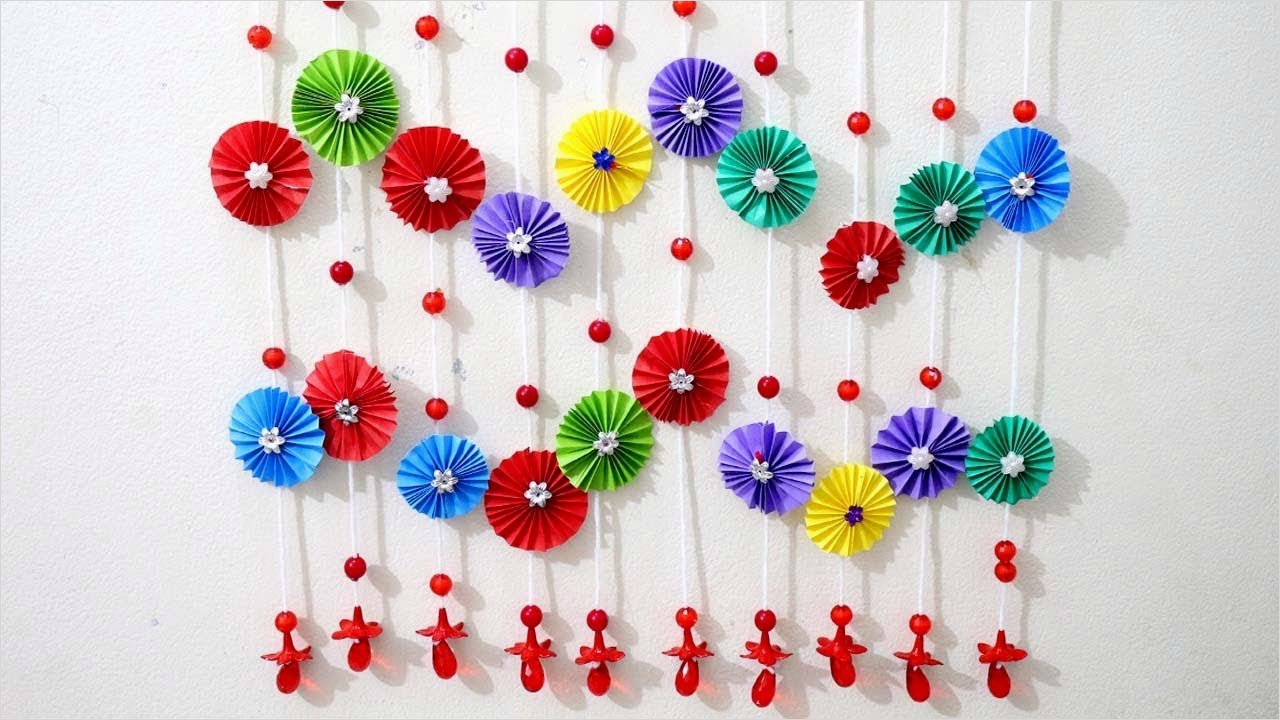 44 Creative Craft Wall Decoration Ideas 21 Paper Craft Home Decor Ideas 3