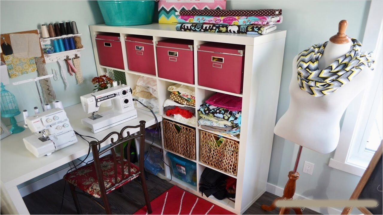 40 Creative Sewing Room Storage Ideas 84 Diy Sewing Room Storage Ideas 6