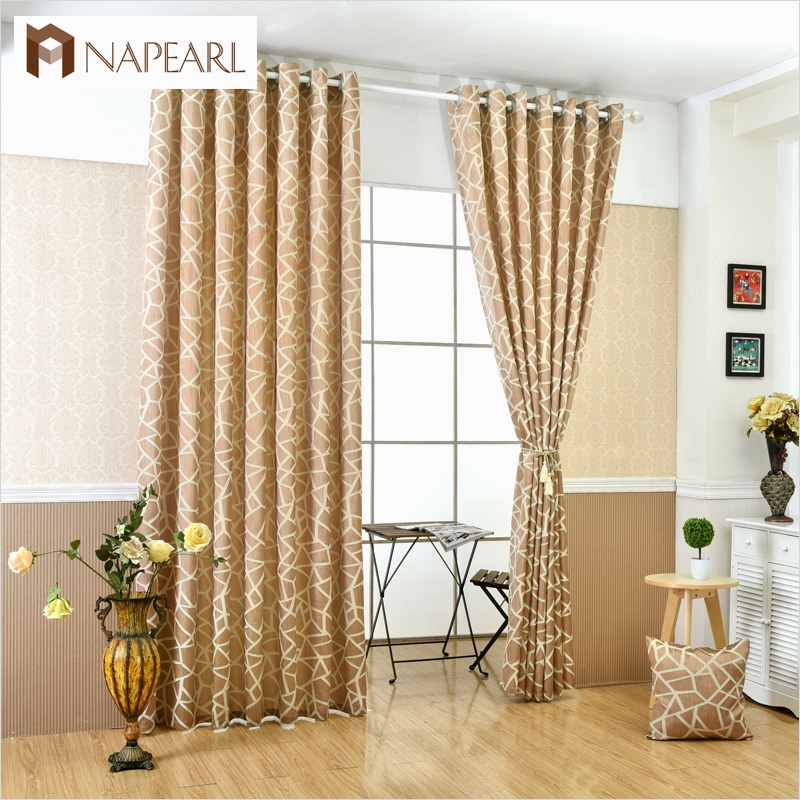 41 Stunning Simple Living Room Curtain Ideas 96 Geometric Jacquard Modern Curtains Simple Design Living 2