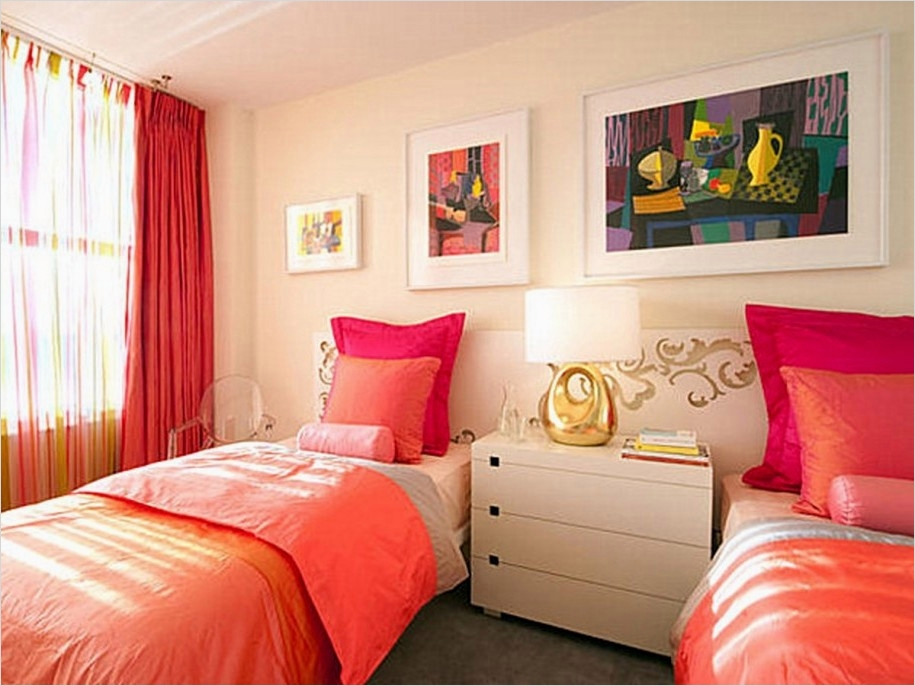 42 Stylish Bedrooms for Teenage Girls 85 Two Girls Bedroom Ideas 6