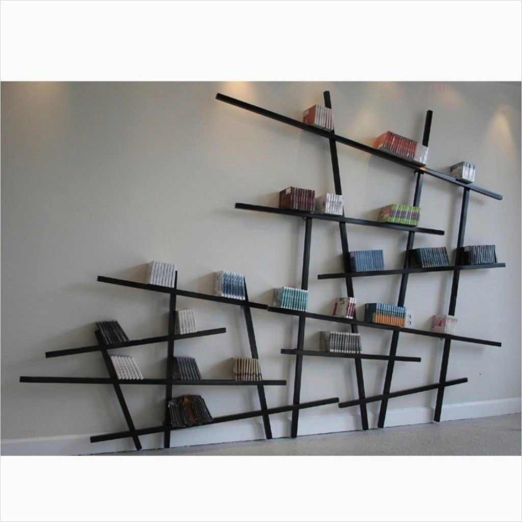 45 Amazing Unique Wall Shelves Ideas 81 Wall Mounted Bookshelves Designs Unique Wall Mounted Bookshelves Design 2