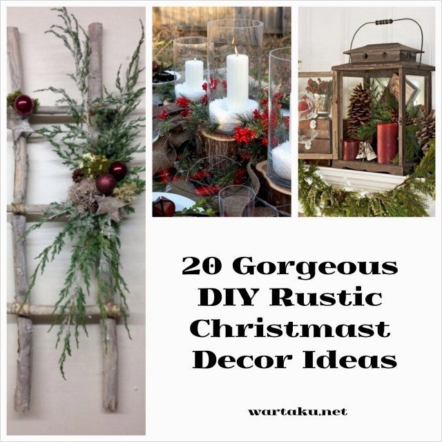 45 Diy Rustic Christmas Decorations 27 20 Gorgeous Diy Rustic Christmas Decor Ideas Wartaku 9