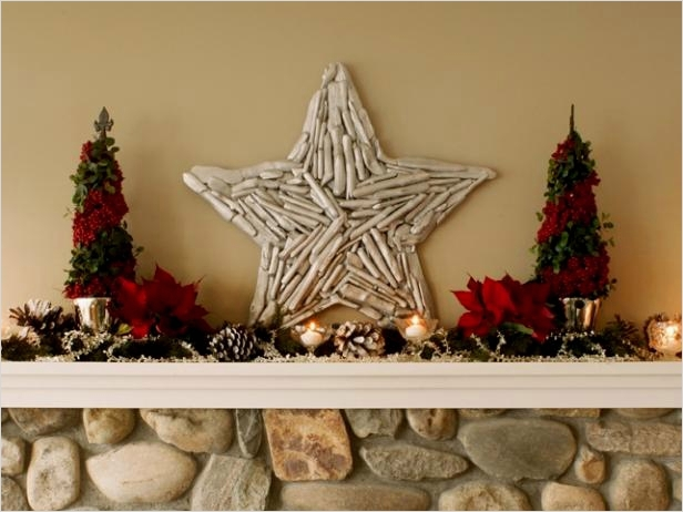45 Diy Rustic Christmas Decorations 48 Make A Rustic Driftwood Star Decoration How tos 4