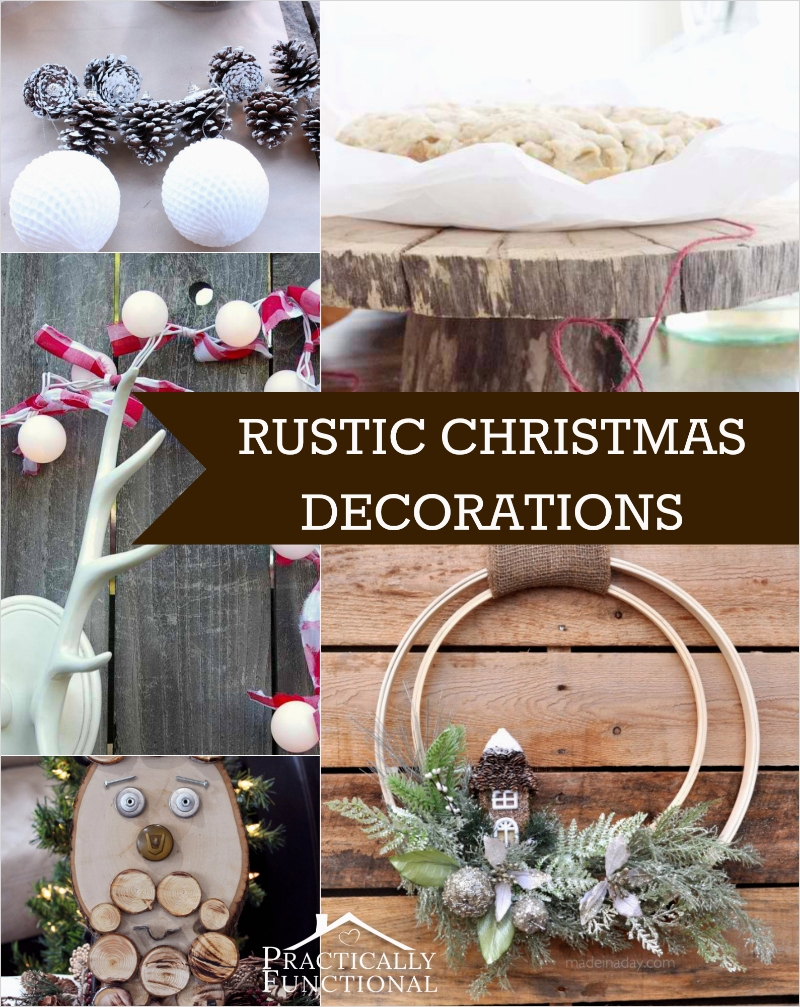45 Diy Rustic Christmas Decorations 95 10 Diy Rustic Christmas Decorations 4