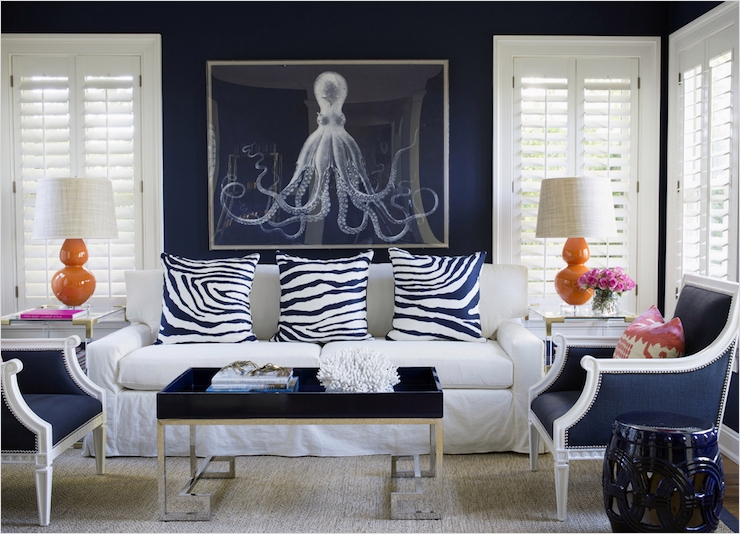 41 Amazing Navy Blue and White Living Room 96 Navy Blue Living Room Chairs Design Ideas 5