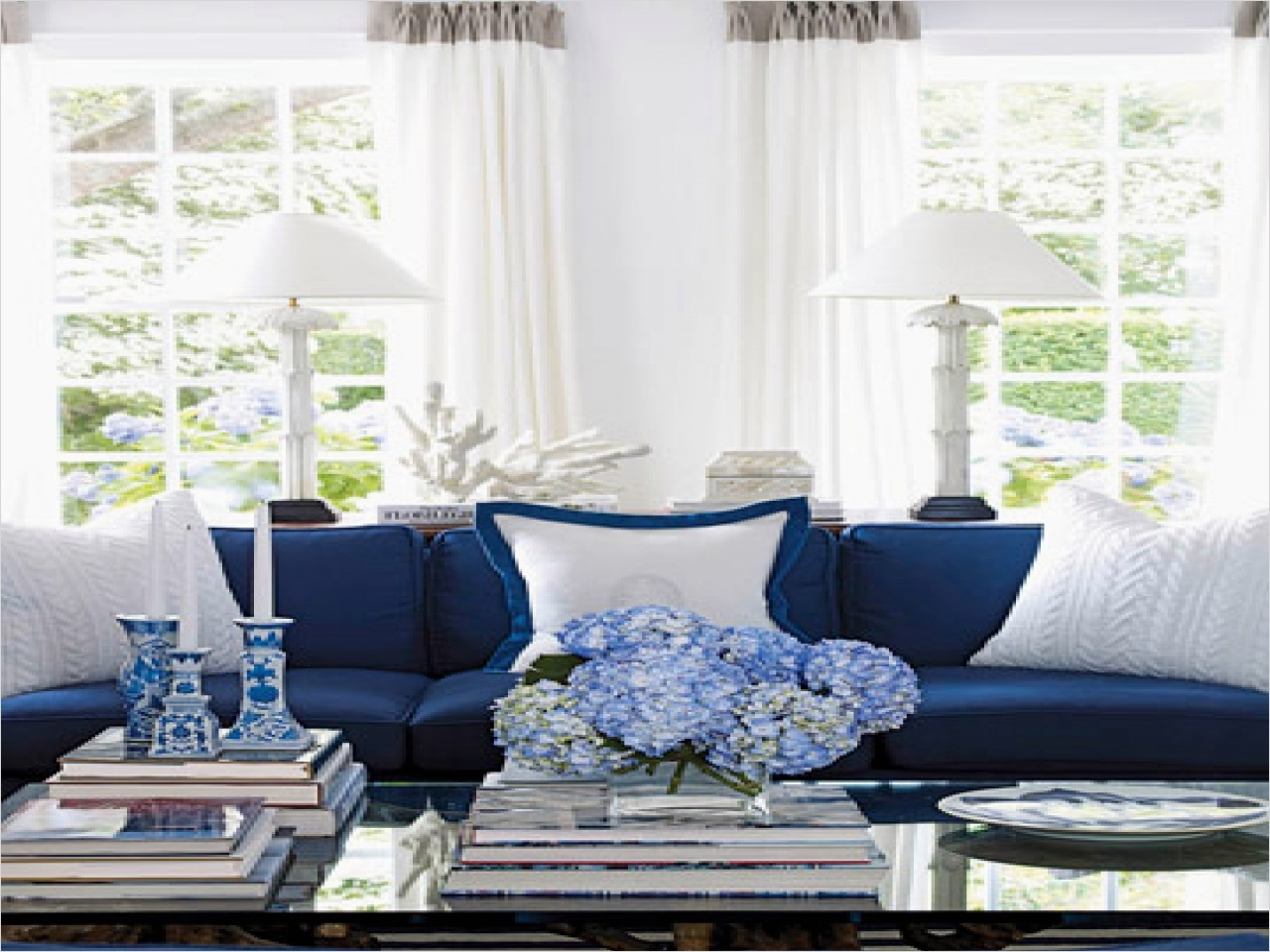 41 Amazing Navy Blue and White Living Room 57 Navy Blue and White Living Room Smileydot 3