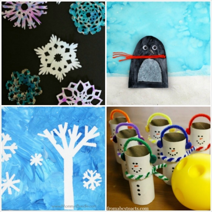 40 Diy Easy Winter Crafts 76 50 Fun and Easy Winter Crafts for Kids Look We Re Learning 7