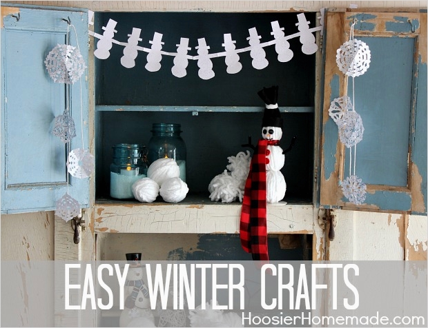 40 Diy Easy Winter Crafts 79 Easy Winter Crafts Hoosier Homemade 1