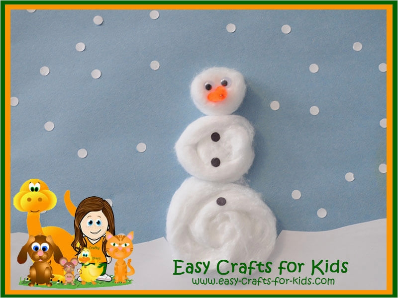 40 Diy Easy Winter Crafts 35 Winter Crafts for Kids Penguins Polar Bears Snow & so Much More 9