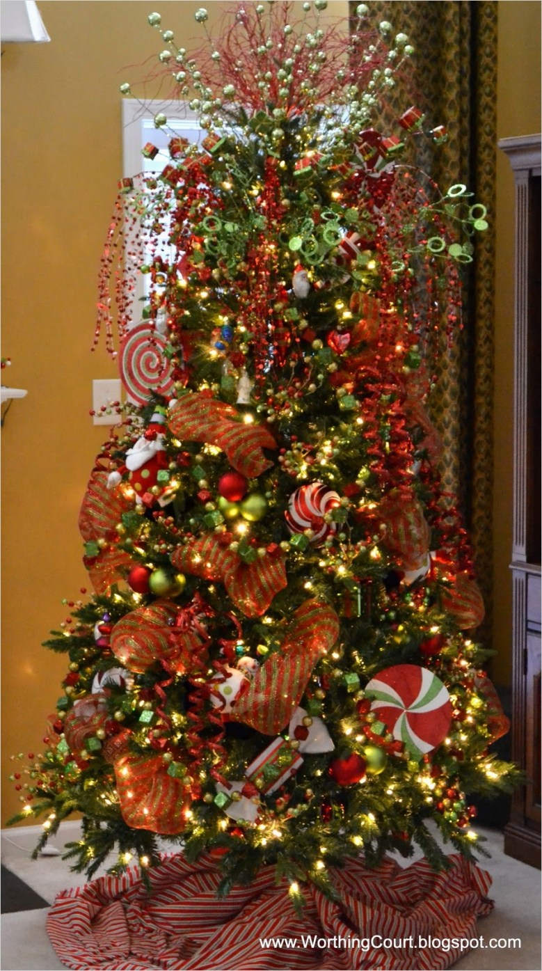 41 Awesome Whimsical Christmas Tree Decorating Ideas 82 Our Whimsical Christmas Tree 3