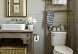 30 Best Rustic Bathroom Design and Decoration Ideas 2019 32
