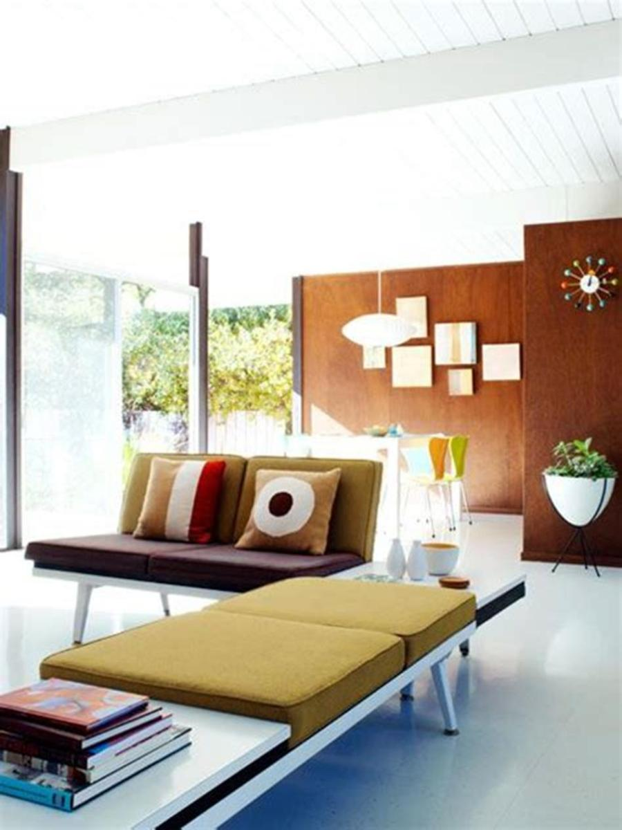 50 Amazing Mid Century Modern Living Room Design Ideas 38