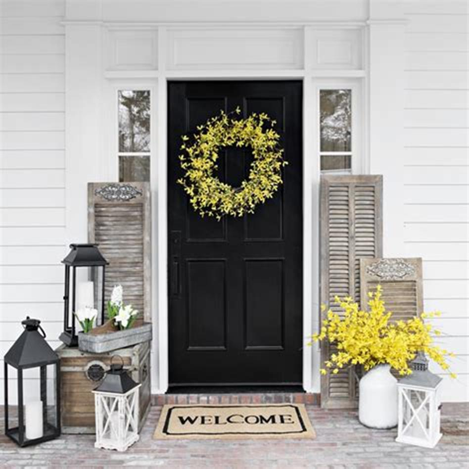 40 Beautiful Spring Front Porch Decorating Ideas You Will Love 11