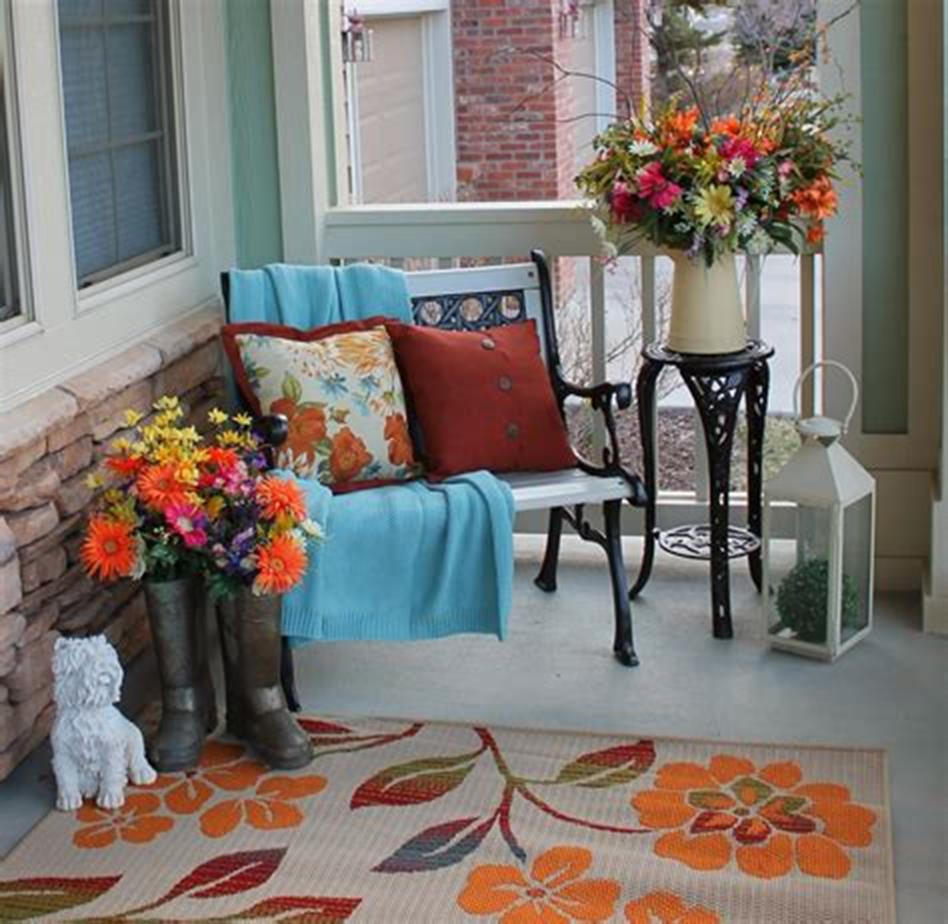 40 Beautiful Spring Front Porch Decorating Ideas You Will Love 14
