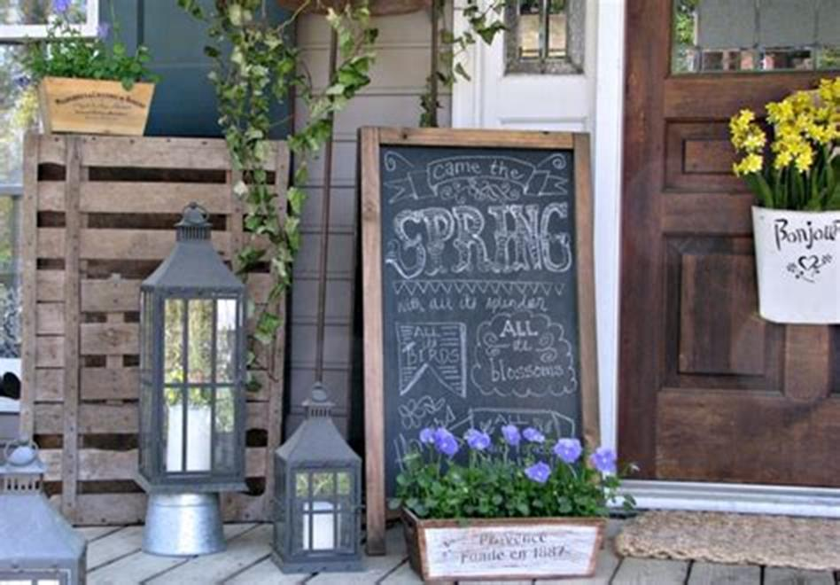 40 Beautiful Spring Front Porch Decorating Ideas You Will Love 15