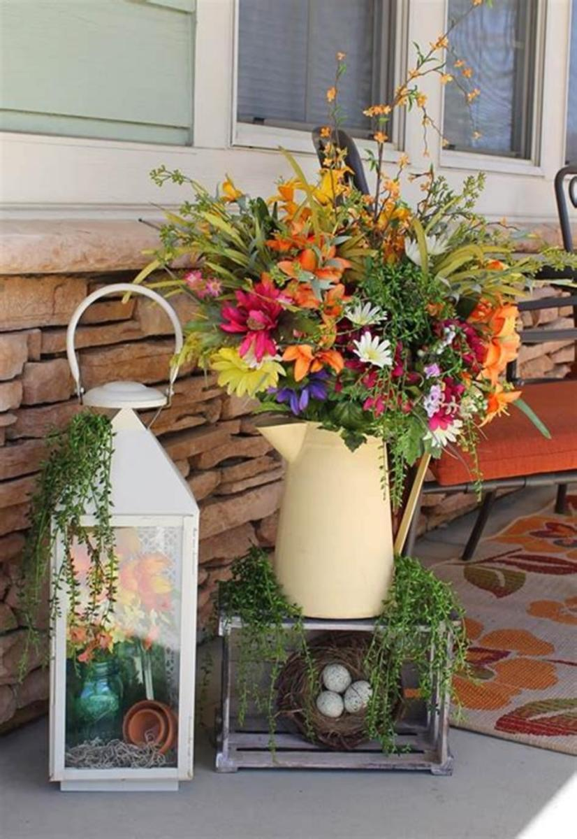 40 Beautiful Spring Front Porch Decorating Ideas You Will Love 22