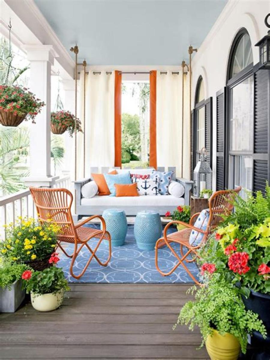 40 Beautiful Spring Front Porch Decorating Ideas You Will Love 28