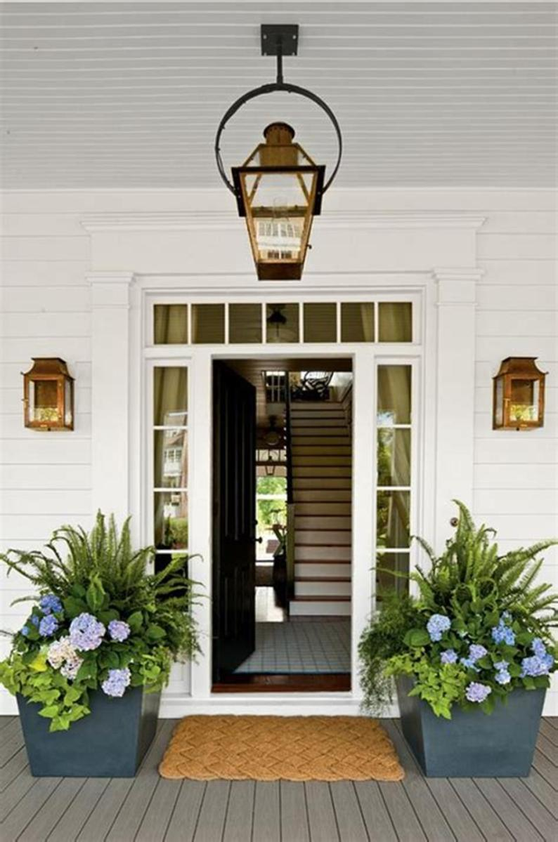 40 Beautiful Spring Front Porch Decorating Ideas You Will Love 3