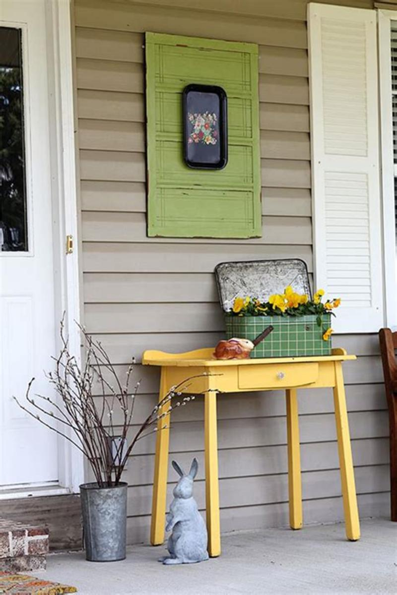 40 Beautiful Spring Front Porch Decorating Ideas You Will Love 47