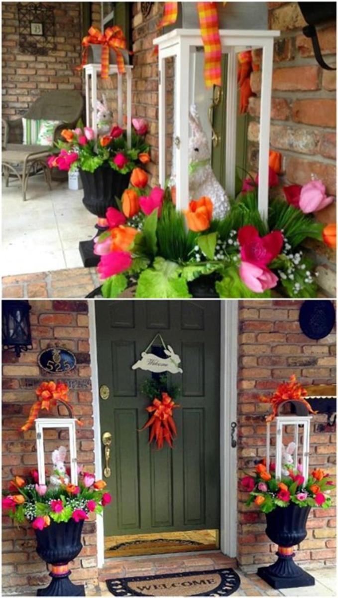 40 Beautiful Spring Front Porch Decorating Ideas You Will Love 48