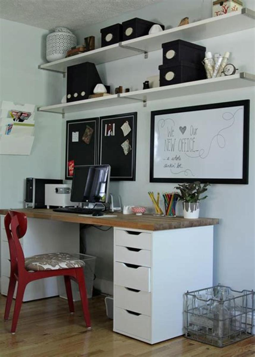 50 Cheap IKEA Home Office Furniture with Design and Decorating Ideas 11