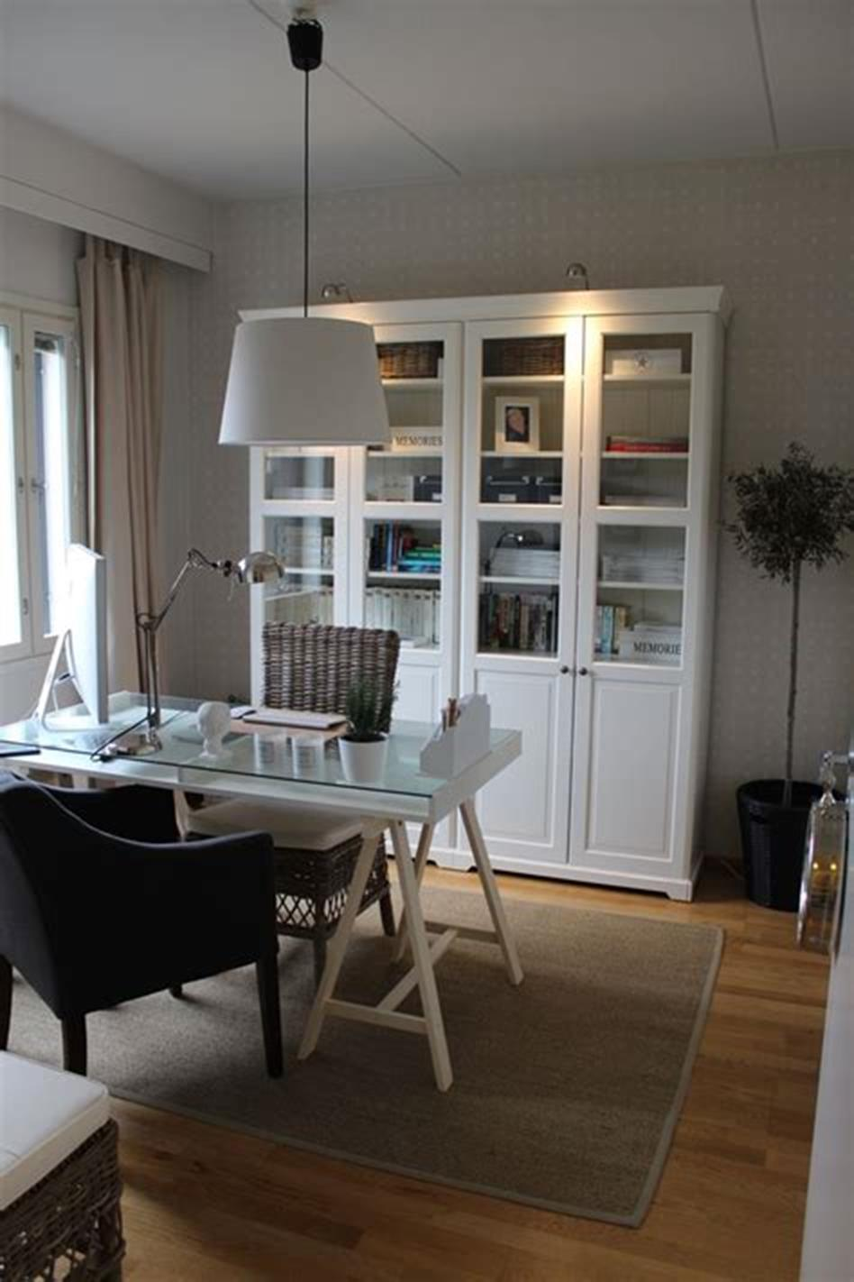 50 Cheap IKEA Home Office Furniture with Design and Decorating Ideas 12