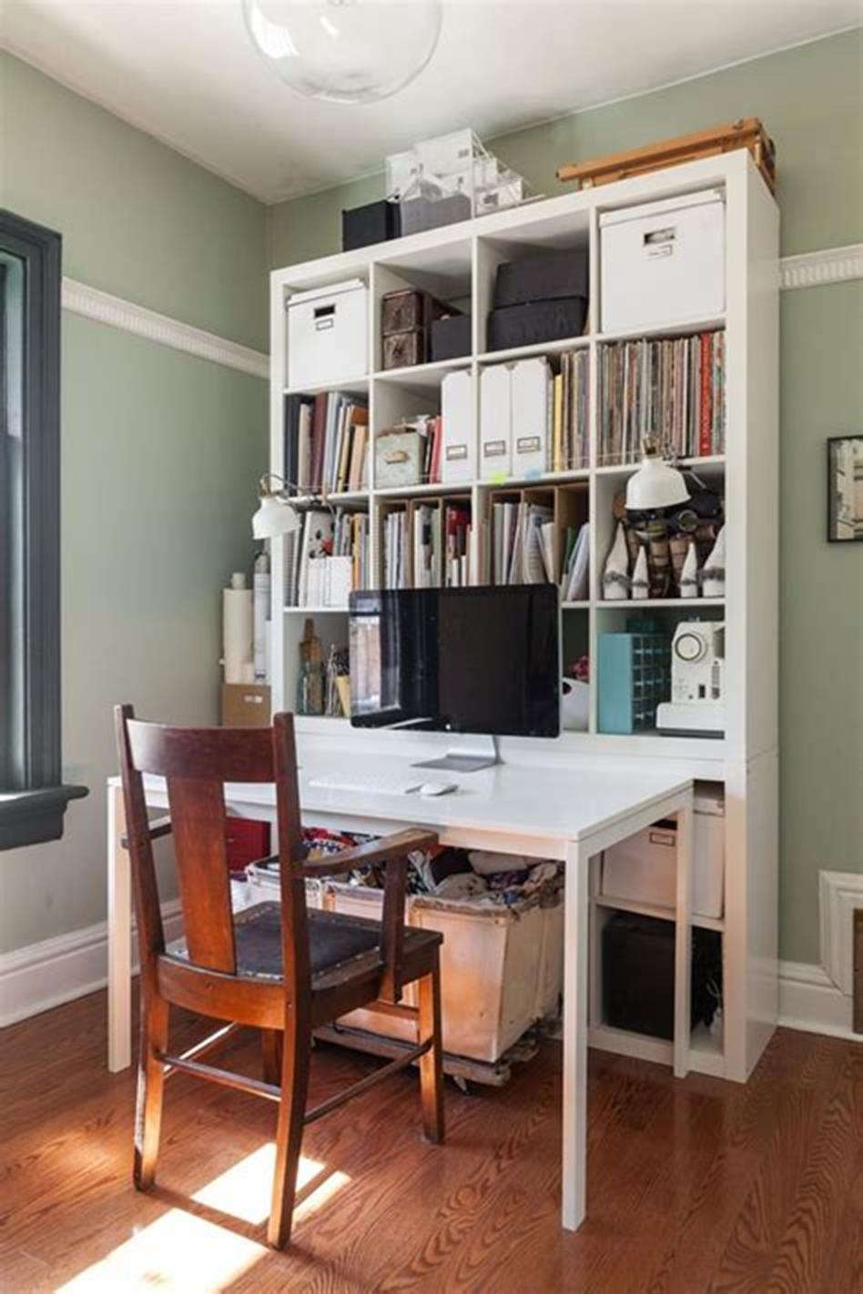glamorous ikea office furniture ideas | 50 Cheap IKEA Home Office Furniture with Design and ...