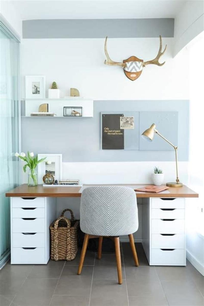 50 Cheap IKEA Home Office Furniture with Design and Decorating Ideas 20