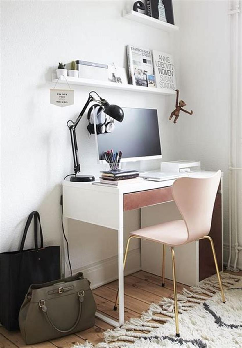 50 Cheap IKEA Home Office Furniture with Design and Decorating Ideas 3