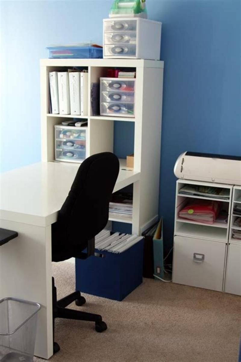 50 Cheap IKEA Home Office Furniture with Design and Decorating Ideas 34
