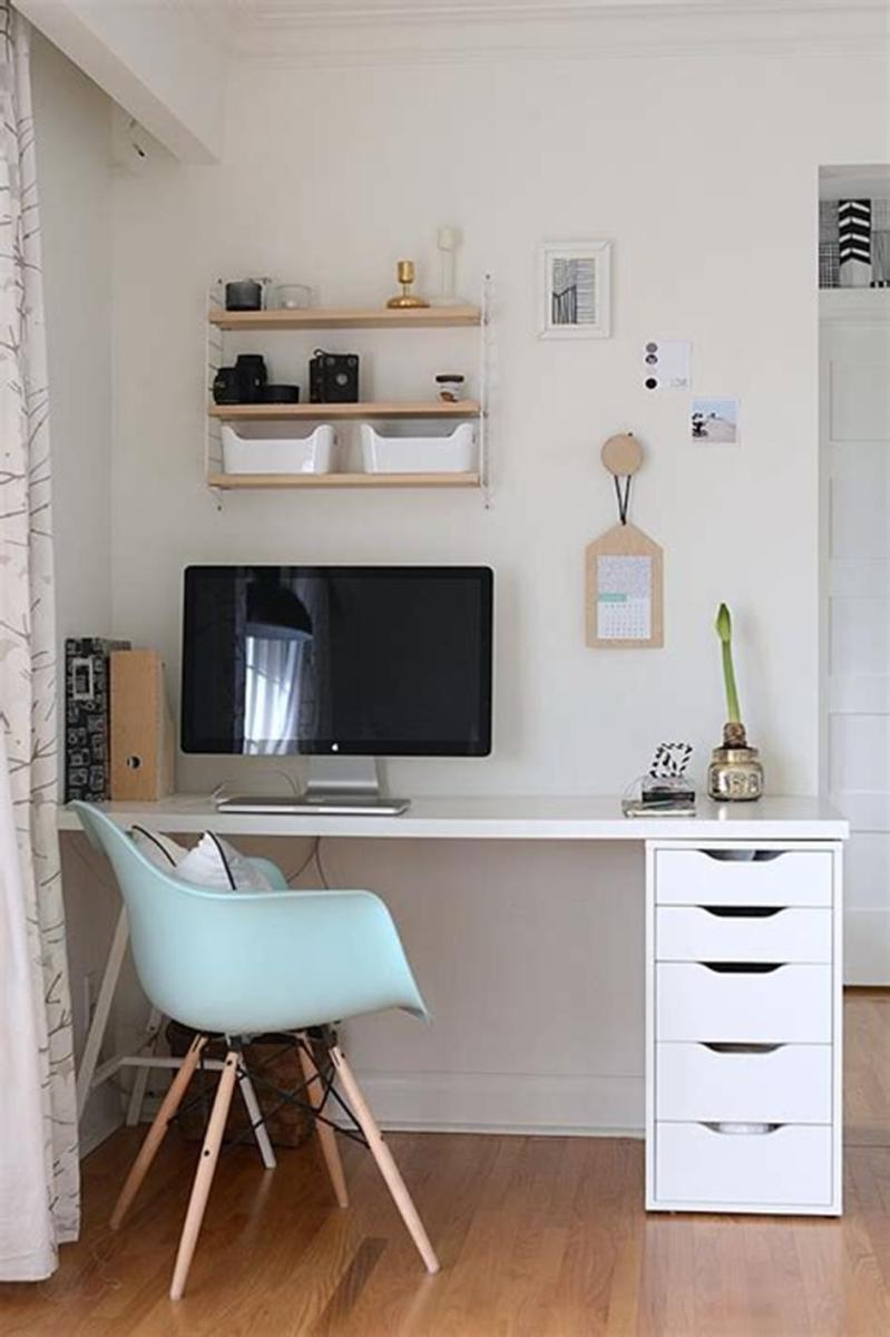 50 Cheap IKEA Home Office Furniture with Design and Decorating Ideas 38