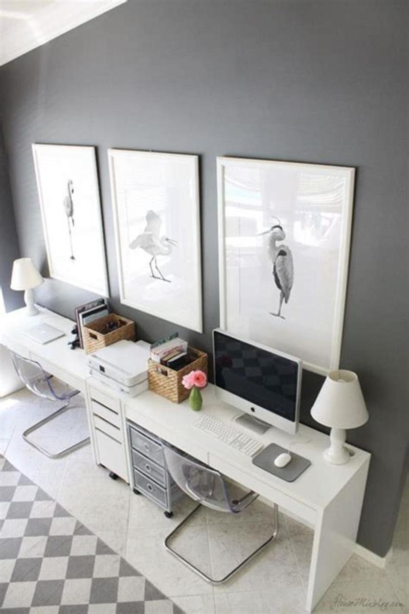 50 Cheap IKEA Home Office Furniture with Design and Decorating Ideas 4