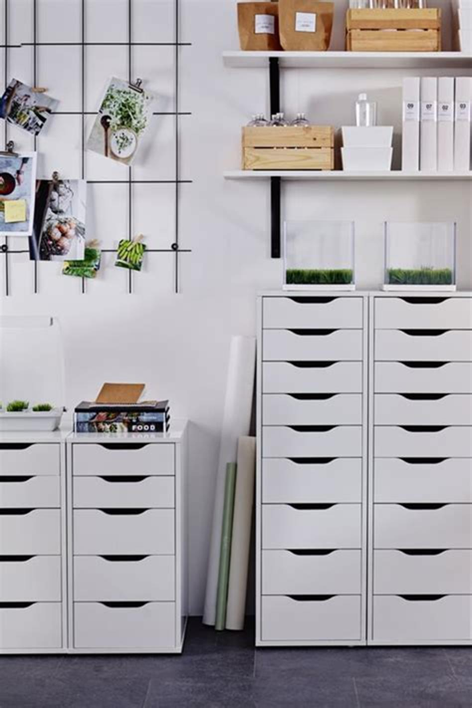 50 Cheap IKEA Home Office Furniture with Design and Decorating Ideas 40