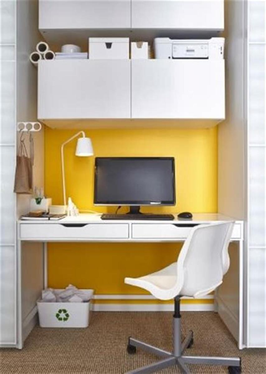 50 Cheap IKEA Home Office Furniture with Design and Decorating Ideas 9