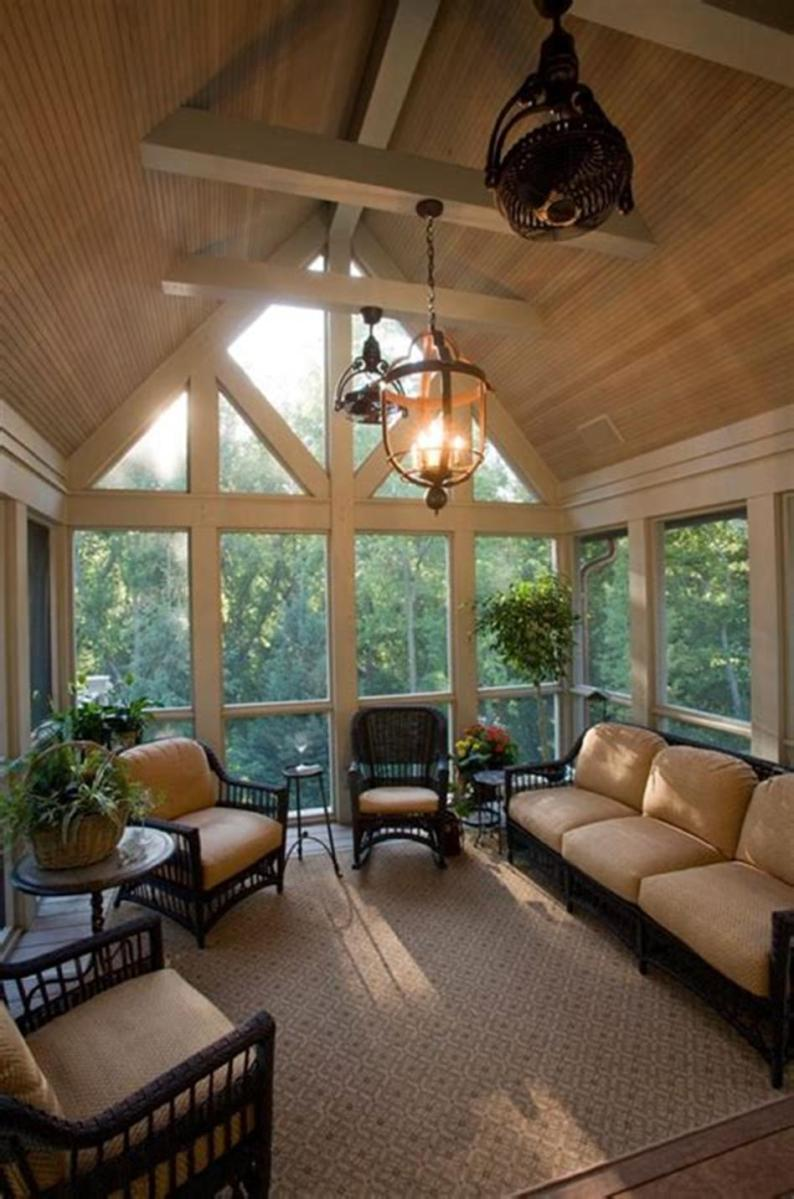 40 Best Screened Porch Design and Decorating Ideas On Budget 10