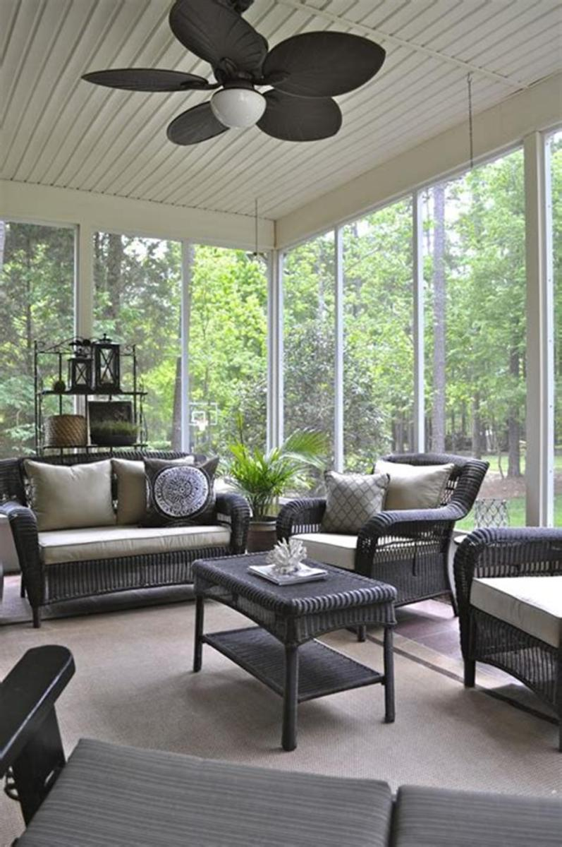 40 Best Screened Porch Design and Decorating Ideas On Budget 11