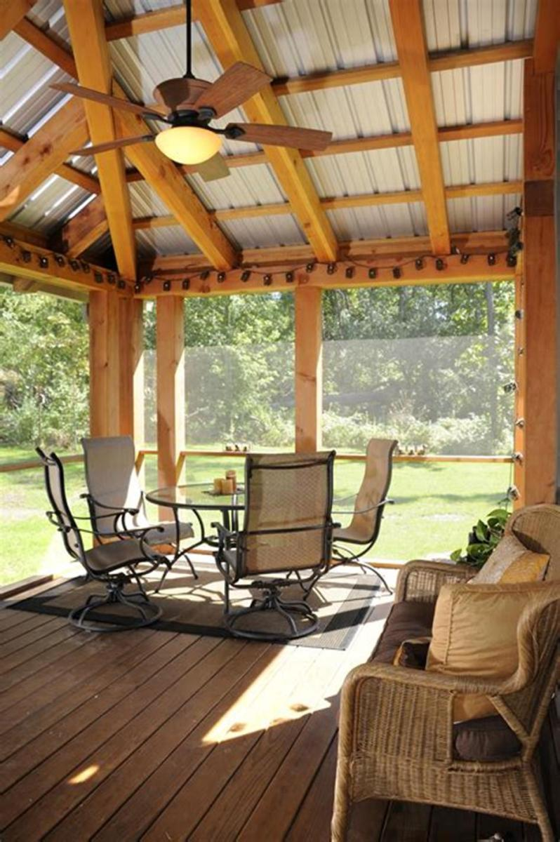40 Best Screened Porch Design and Decorating Ideas On Budget 15